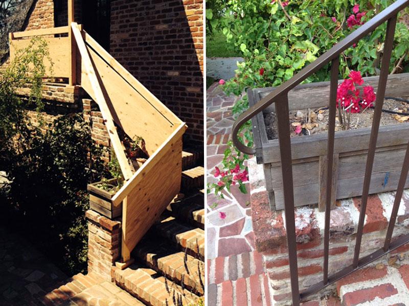 Handrail Mock-Up & Fabrication