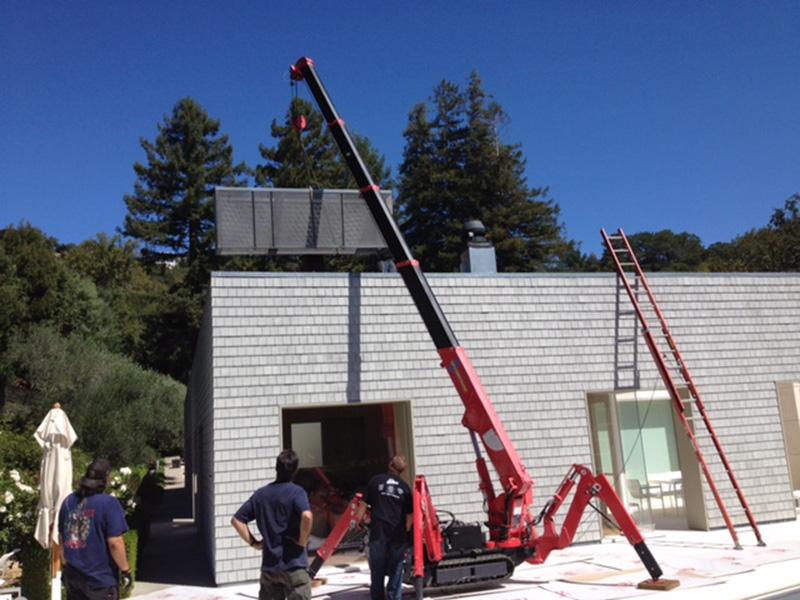 Rooftop Equipment Installation